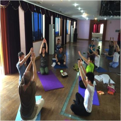practicing yantra yoga china