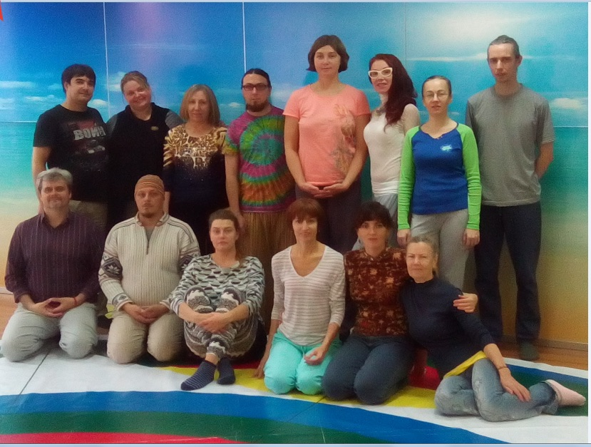 vajra dance course participants