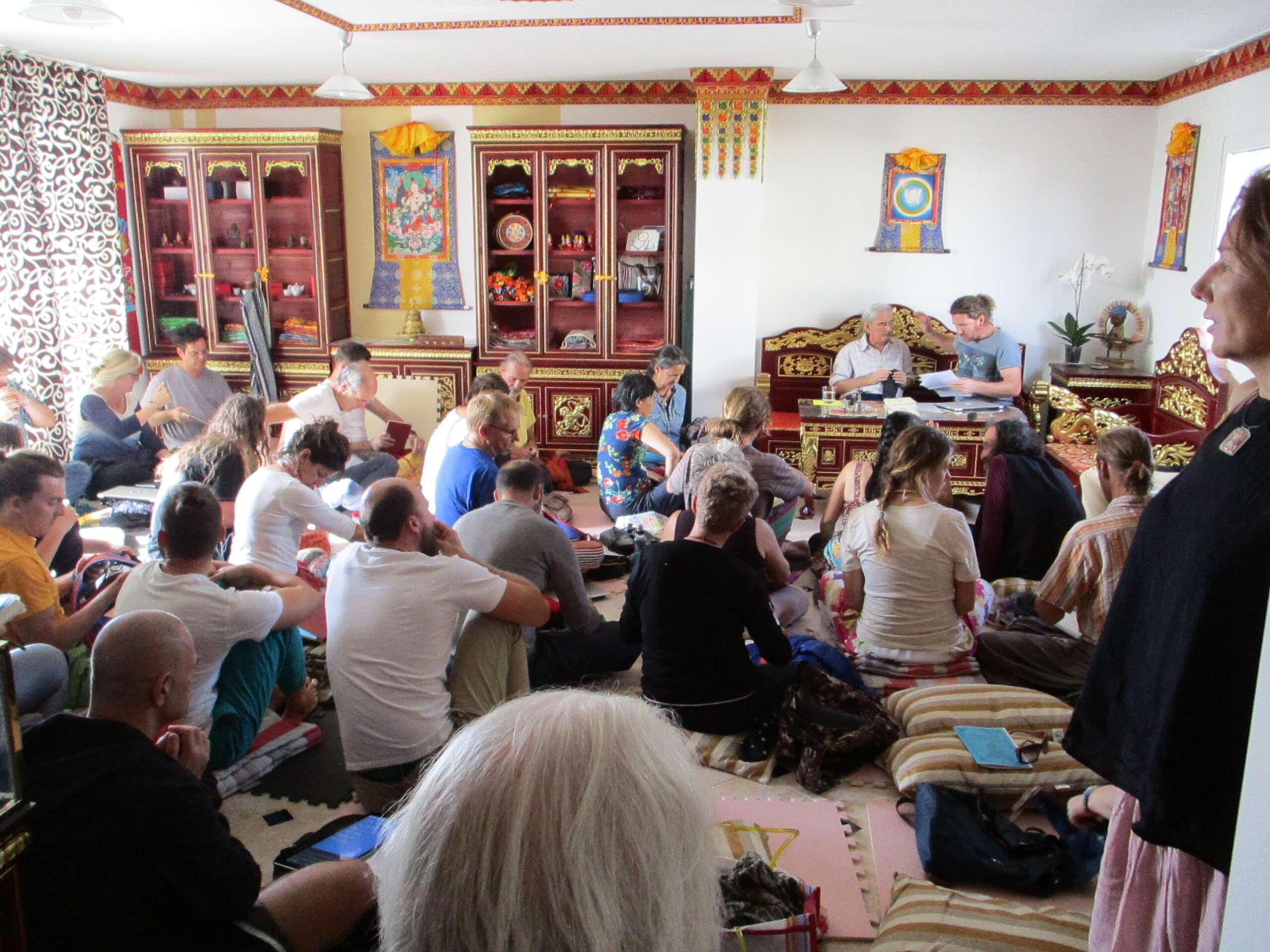 samtengar's tibetan room