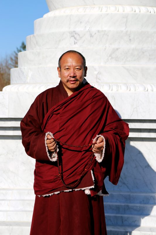 Khenpo visits Merigar West