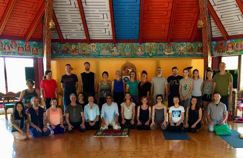 harmonious breathing teachers' training