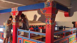 Dipingere nello stile tibetano