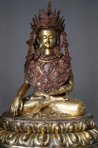 Completata la statua <br> di Jowo Sakyamuni