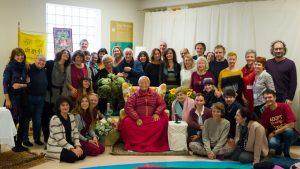 Namkhai Norbu Rinpoche a Milano