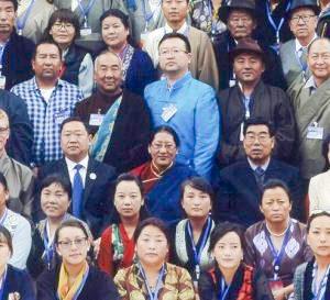 100° anniversario<br> di Men-Tsee-Khang a Lhasa