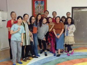 Corso della Danza del Canto del Vajra a Samtengar, Cina