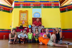 Corso principianti di Yantra Yoga a Merigar East, e altro