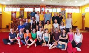 Teacher Training avanzato di Yantra Yoga per il secondo livello a Kunsangar
