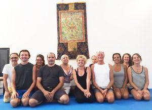 Gli Otto Movimenti dello Yantra Yoga a Dzamling Gar