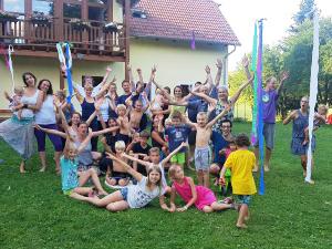 Estate di Yantra Yoga a Phendeling, Repubblica Ceca