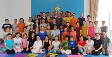 Teacher Training degli Otto Movimenti a Samtengar, Cina