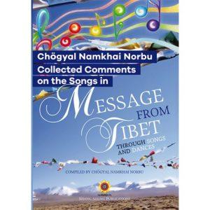 Nuovo libro: raccolta di commenti sulle canzoni in 'Message from Tibet'