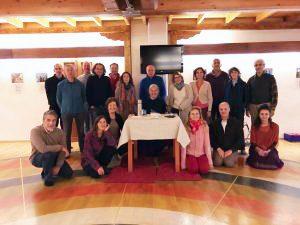1° Livello del Santi Maha Sangha a<br> Merigar West