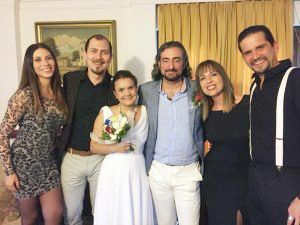 Sposi – Alvaro Vinilosalvaro Acuña e Lyolya Matveychenkova