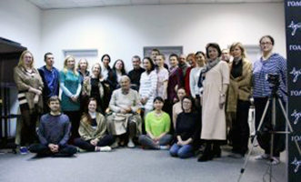 Seminario aperto a tutti sulla <br>consapevolezza con Elio Guarisco a Minsk, Bielorussia