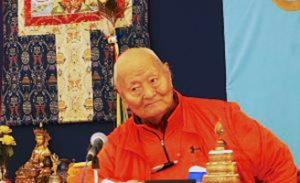 Auguri per il Compleanno di Rinpoche l'8 dicembre 2017 a Dzamling Gar!