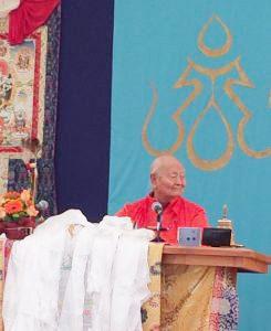 Discorso sul Compleanno di Chögyal Namkhai Norbu