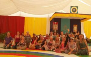 Approfondimento della Danza del Vajra del Canto del Vajra a Dzamling Gar