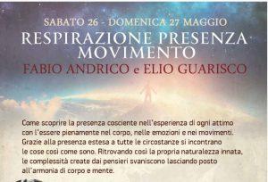'Respirazione-Presenza-Movimento' a Bologna, Italia