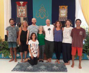 Yantra Yoga a Dzamling Gar