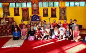 Supervisione del Primo livello di Yantra Yoga a Kunsangar North, 7-11 luglio 2018