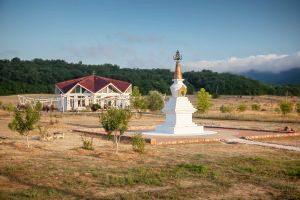 Completamento dello Stupa a <br>Kunsangar South
