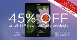 Shang Shung Pubblicazioni, 45% di sconto su tutti i prodotti digitali!