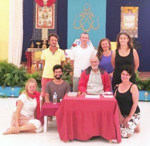 Santi Maha Sangha a Dzamling Gar