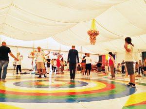 Seminario di formazione a Dzamling Gar della Danza del Canto del Vajra