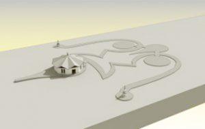 Costruzione del secondo <br>Stupa a Merigar East