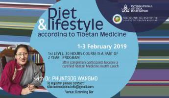 Programma di Medicina tibetana su dieta e stile di vita