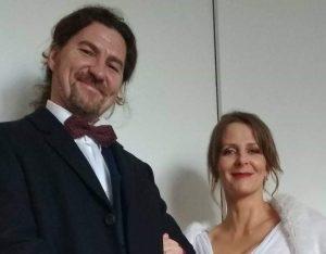 Sposi – Grzegorz (Greg) Ladra e <br>Katarzyna (Kasia) Dmyterko