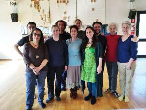 Primo fine settimana del corso di Danze Meditative a Gelegling, Bologna