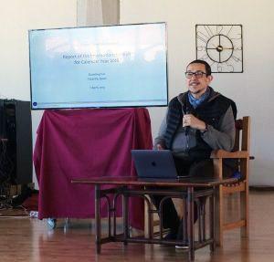 Discorso di apertura di Steven Landsberg e di Costantino Albini durante l'assemblea annuale della Comunità Internazionale Dzogchen