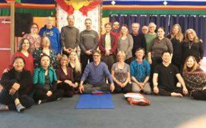 Yantra Yoga, Kumbhaka e la Sedia a Tsegyalgar East