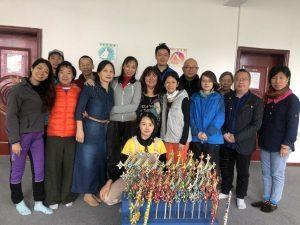 I corsi recenti a Samtengar, Yichun, Cina