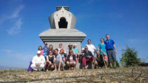 Raccolta fondi per terminare il secondo Stupa a Merigar East