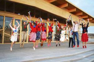 Primo corso di Danze Khaita nel nuovo Gönpa di Dzamling Gar