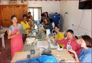 Primo corso di ceramica a Merigar, <br>12-14 e 19-21 luglio 2019