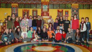Guru Gomadevi con la Danza del Vajra Dance in Russia