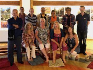 Gli istruttori del Santi Maha Sangha si incontrano a Merigar West