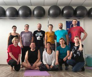 Yantra Yoga a Minsk, Bielorussia