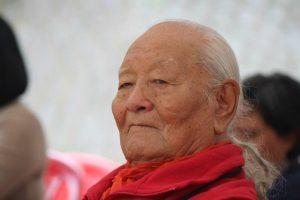 Il 7 dicembre 2019 cerimonia in onore di Chögyal Namkhai Norbu presso il Dorzong Institute, India