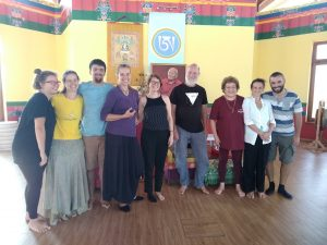 Corso di Drajyor e tibetano con Fabian Sanders