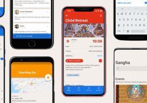 SANGHA, app per il cellulare