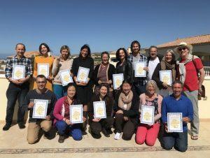 Diploma terzo livello del corso Dieta e Comportamento <br>a Dzamling Gar