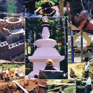 Restauro dello Stupa di <br>Khandroling, Tsegyalgar East, USA