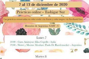 Pratiche online da Tashigar South, 7–13 dicembre