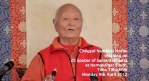 Libri ed audio per la pratica dei 25 Spazi di Samantabhadra