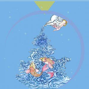24 luglio, luna piena: rilascio dei pesci con Drugu Choegyal Rinpoche